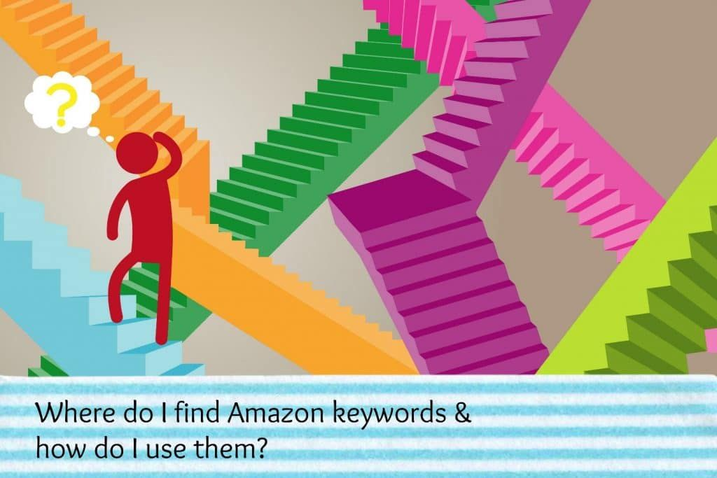 Scratching your head when it comes to Amazon keywords? Here