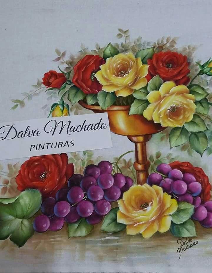 Excepcional Pin de Ilma Marques em PINTURAS DALVA MACHADO | Pinterest  KO64