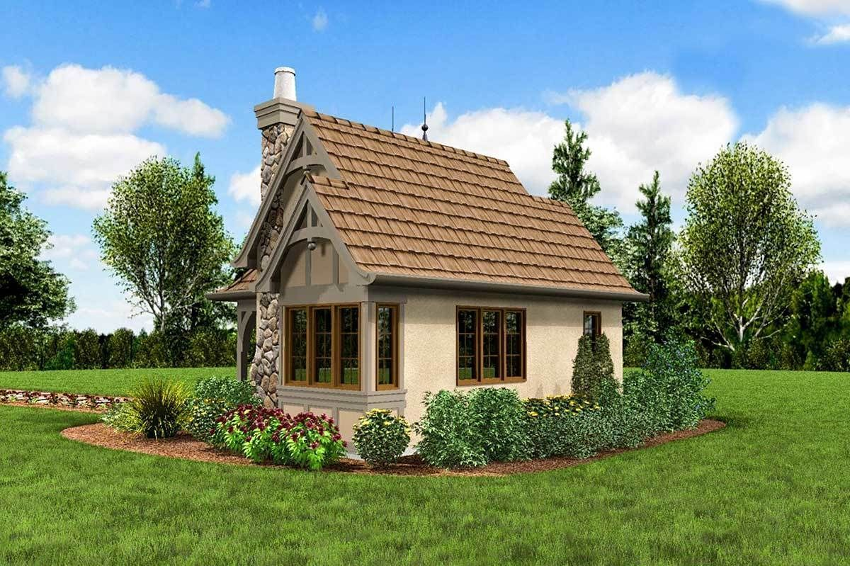Cottage House Plan Whimsical Cottage House Plan