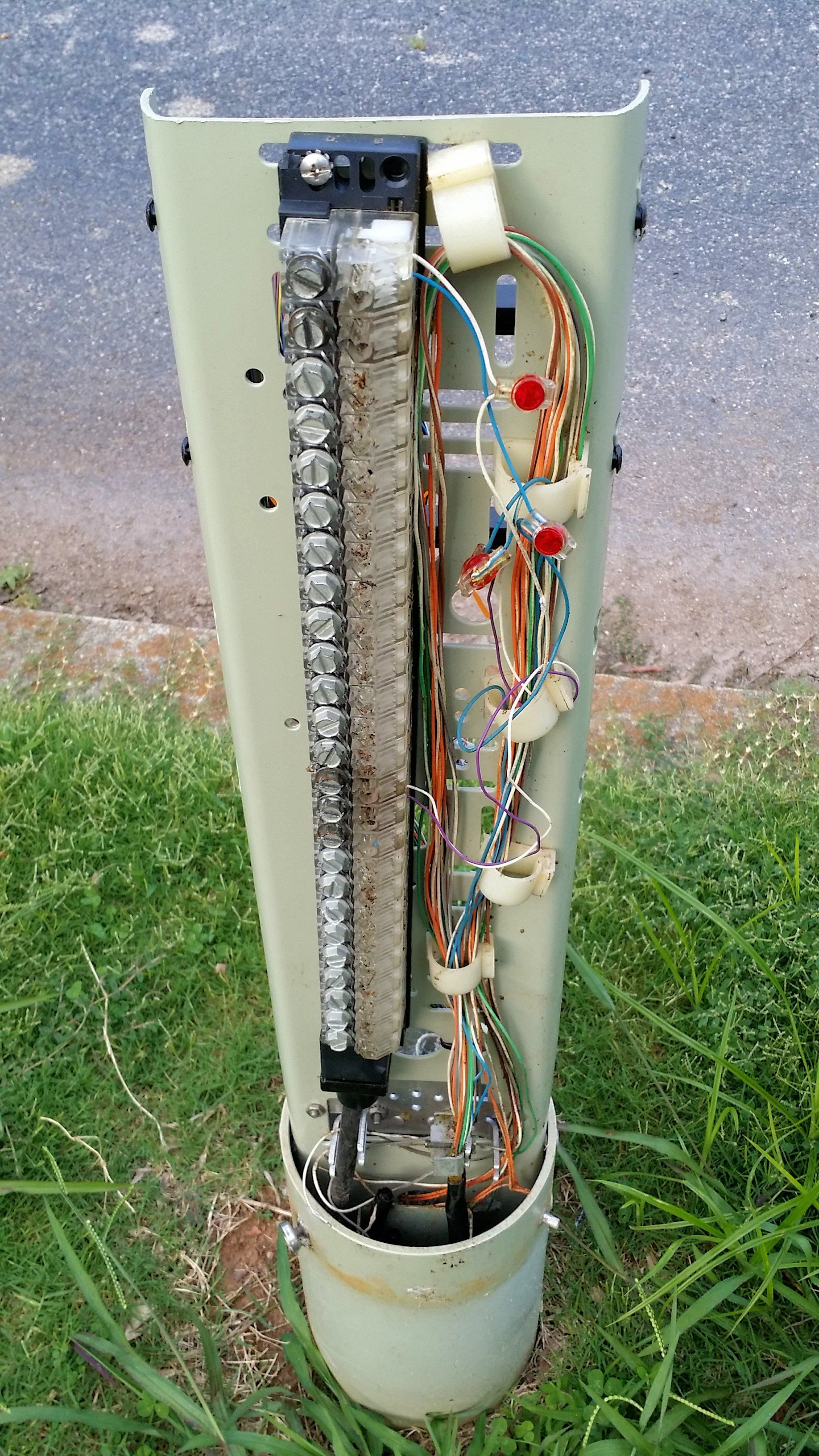 telephone wiring cover wiring diagram mega buried cable serving terminal st with cover [ 1836 x 3264 Pixel ]