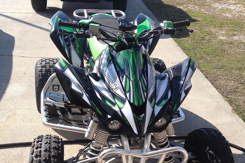 kfx450r graphics KFX 450R 450 R Kawasaki custom sticker kit