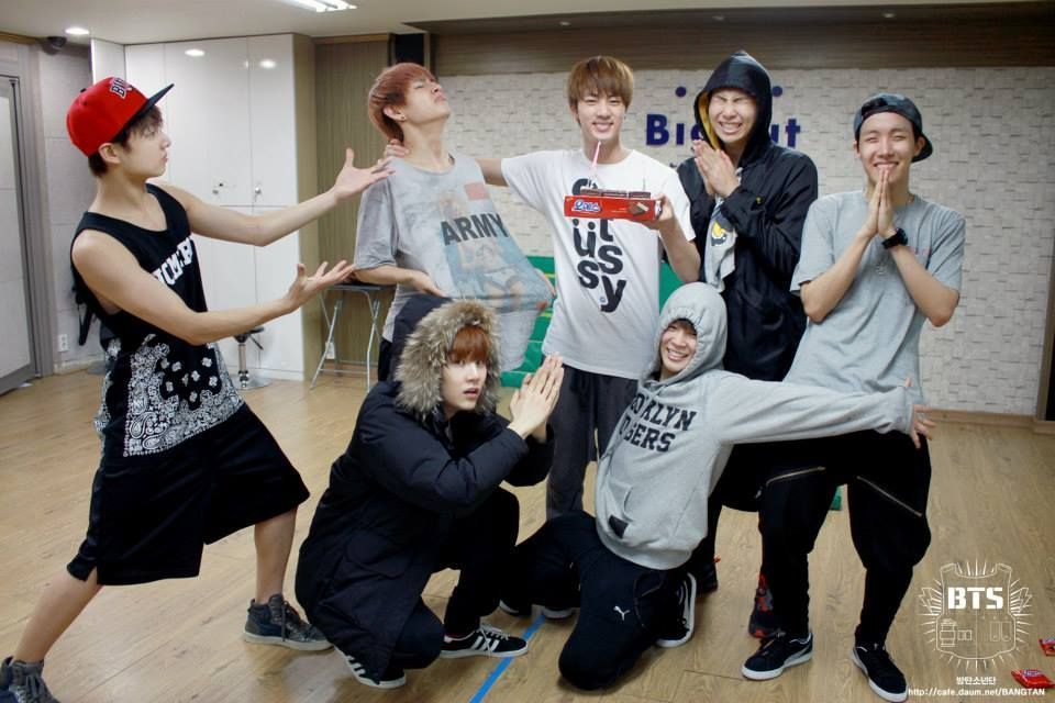 Jin's Birthday. ^_^ these boys have stolen my heart <3 #jinbirthday Jin's Birthday. ^_^ these boys have stolen my heart <3 #jinbirthday