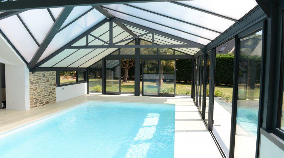 Véranda aluminium Profils Systèmes ® - piscine | Veranda aluminium, Veranda alu, Piscine