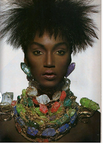 Katoucha Niane for Vogue US, April 1988 http://bit.ly/Uf4btA
