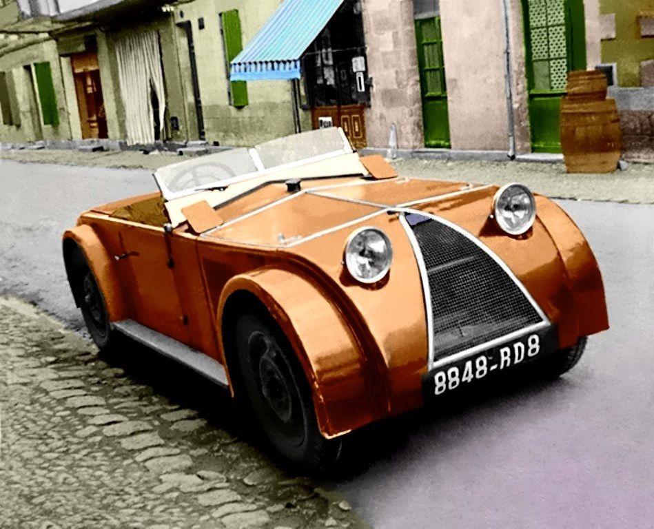 Chenard & Walcker 1495cc 1931 Weird cars, Vintage cars