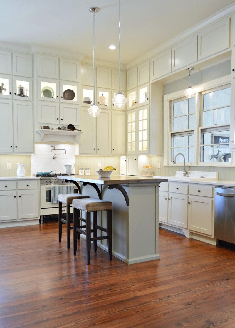southern romance home makeover reveal meubles int rieurs pinterest cuisine plancher. Black Bedroom Furniture Sets. Home Design Ideas