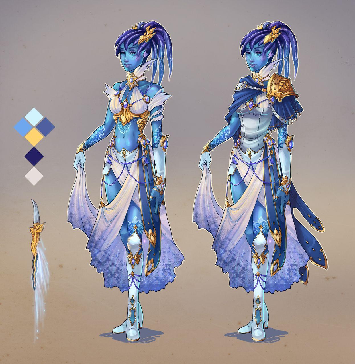Pyratictiger- custom Outfit for Sylvari by Avionetca deviantart com