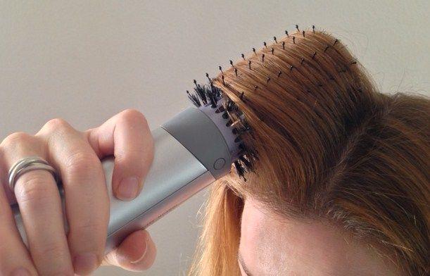 My John Frieda Hot Air Brush Review Round Brush Hair Dryer Hair Brush Straightener Best Hair Straightener