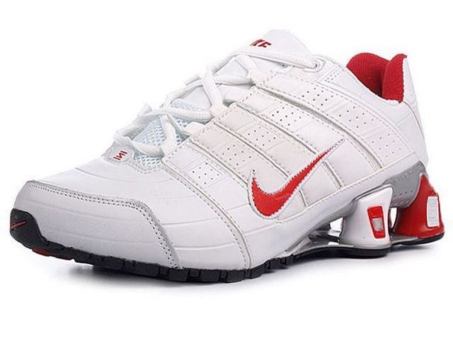 low priced 71e22 b1bf5 Chaussures Nike Shox NZ Blanc  Rouge  nike 12038  - €49.95   Nike Chaussure  Pas Cher,Nike Blazer and Timerland www.facebook.com .