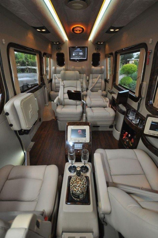 Used Mercedes Sprinter Van >> 43 Cozy Interior RV Large for Your Family | Luxury van ...