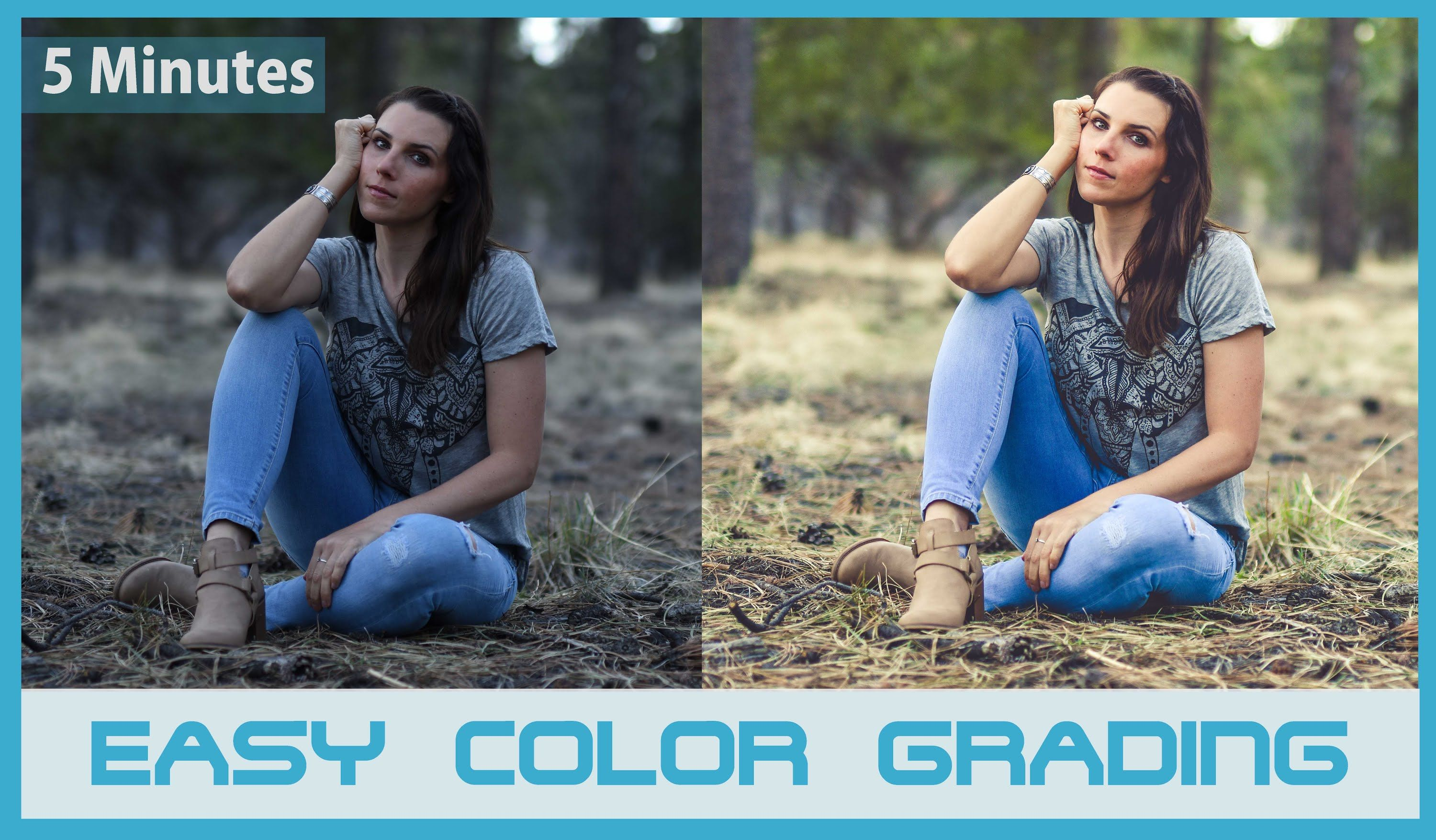 Professional color grading in 5 minits film look photoshop professional color grading in 5 minits photoshop editing effects photoshop cc 2015 cinematic studios is all about photo editing tutorials colour baditri Image collections