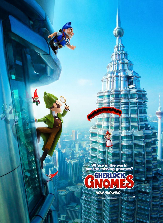 Sherlock Gnomes New International Posters Https Teaser Trailer Com Movie Gnomeo And Juliet 2 Sherlockgnomes Sherlockgnom Sherlock Movie Posters Gnomes