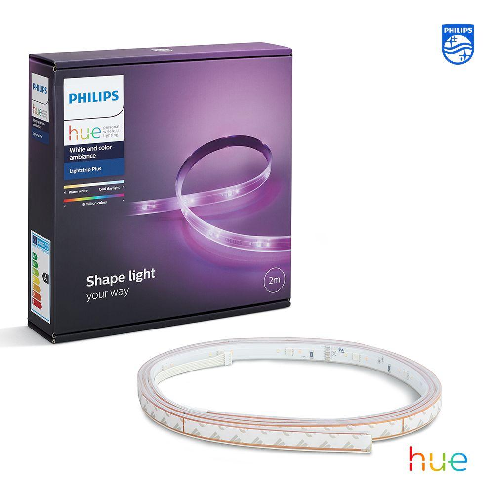 Light Strip Plus Philips Hue In 2020 Hue Philips Hue Light Strips Smart Lighting