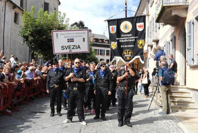 Spazzacamino 2015 Italië Swedish Chimney Sweepers