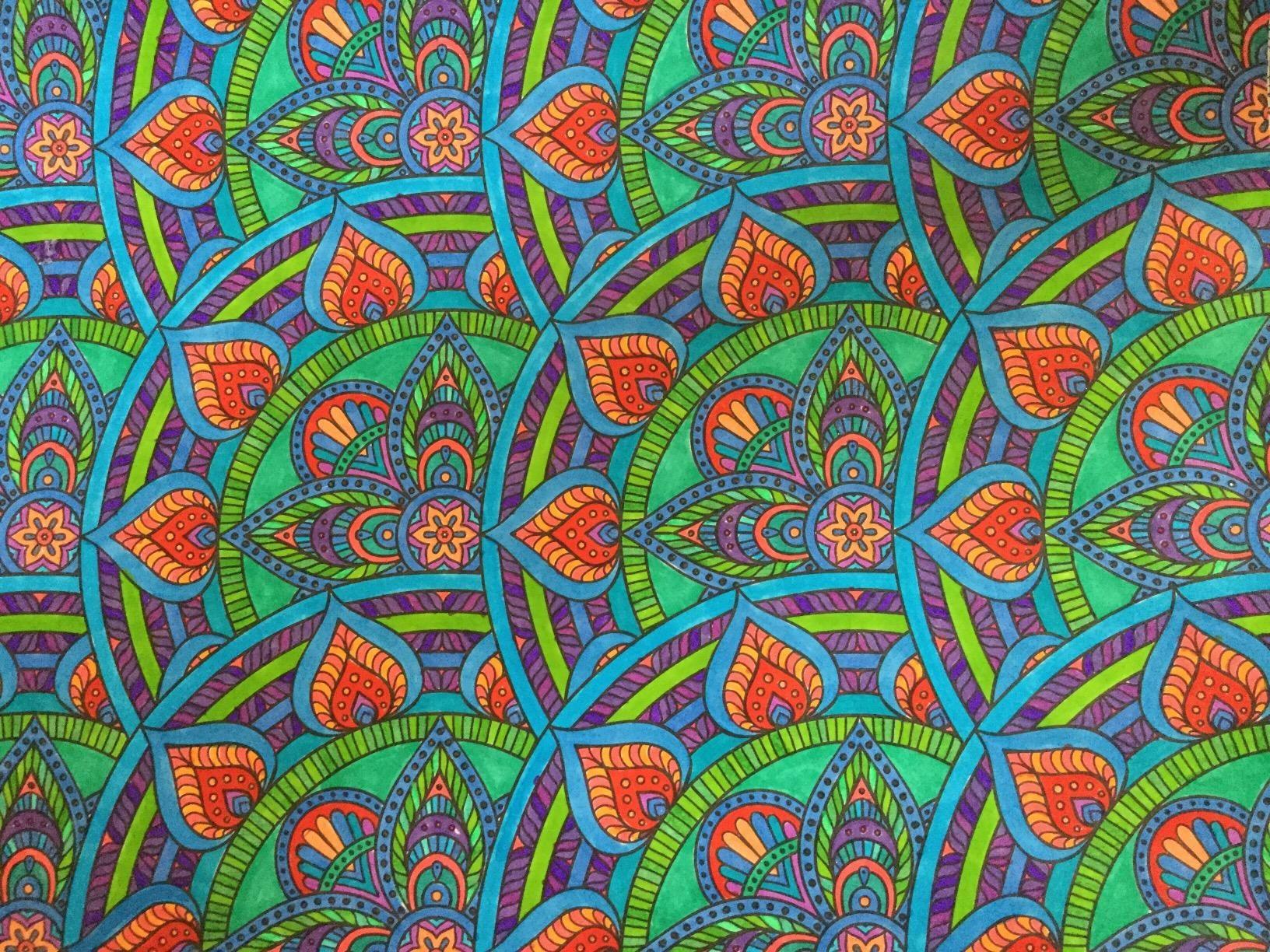 Color art mandala wonders - Amazon Com Mandala Wonders Color Art For Everyone Leisure Arts 6765