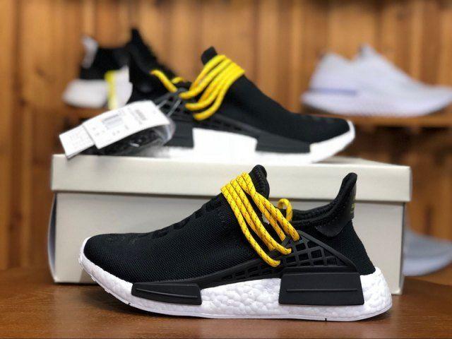 79ab2517d2b0 Mens Womens Adidas Originals PW Human Race Pharrell NMD Cblack BB3068  Running Shoes