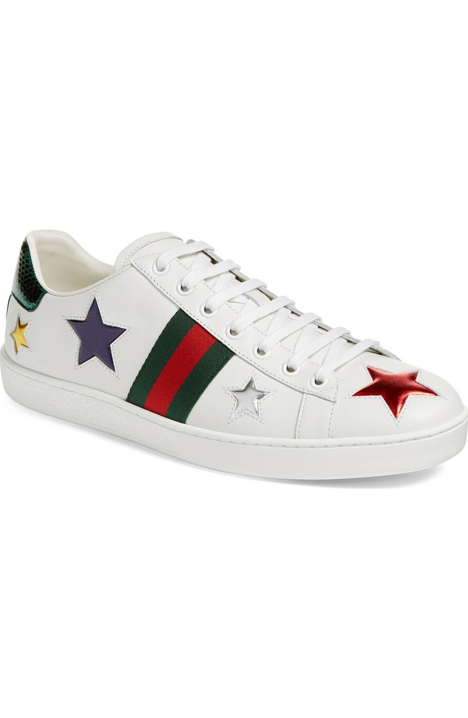 Main Image - Gucci New Ace Star Sneaker (Women)  7cc6554a52d