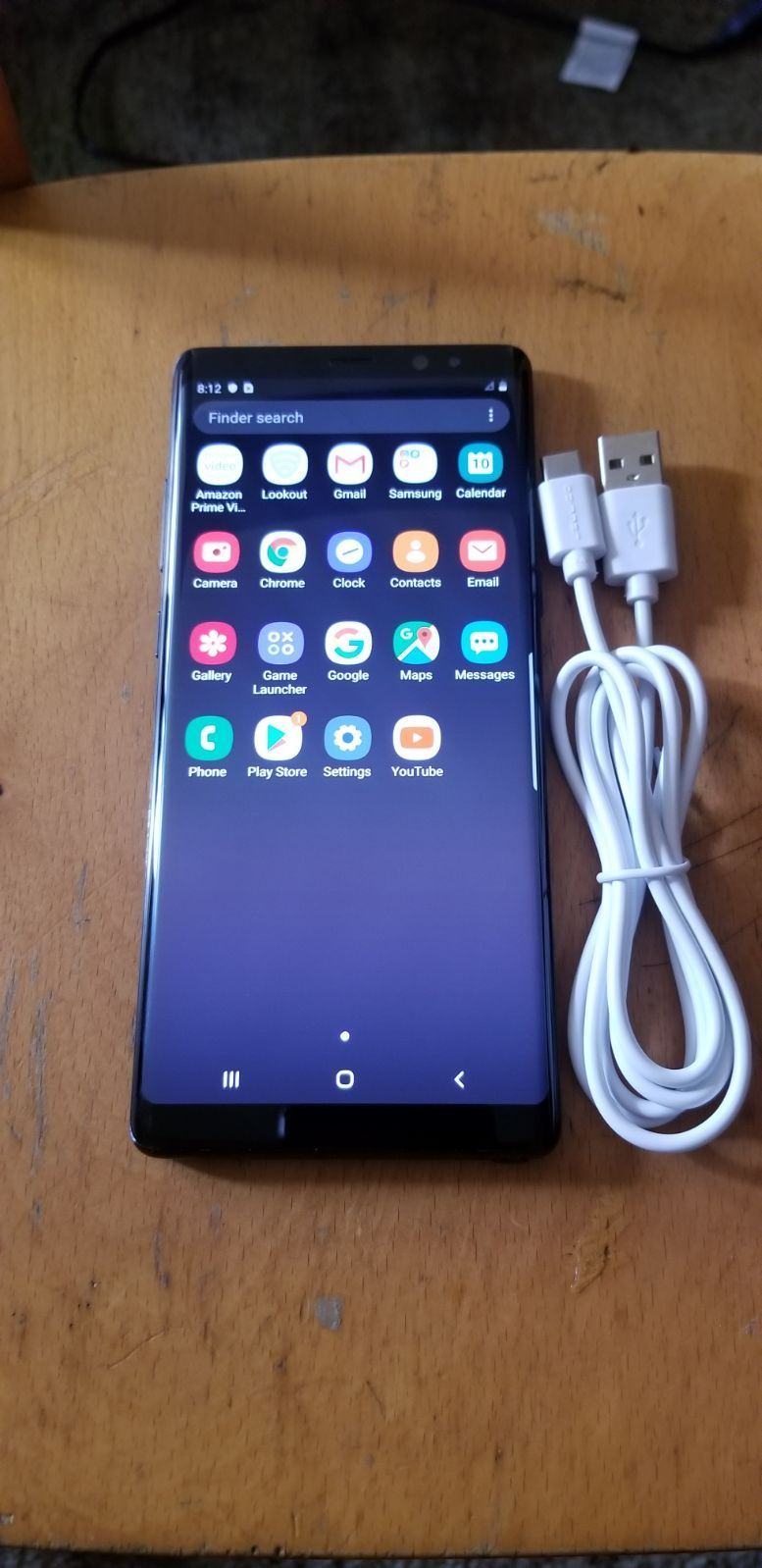 Samsung Galaxy Note 8 Unlocked 64gb Excellent Condition Work Great Unlocked For Ll Network Such At T Verizon Cricke Samsung Galaxy Note 8 Galaxy Note 8 Samsung
