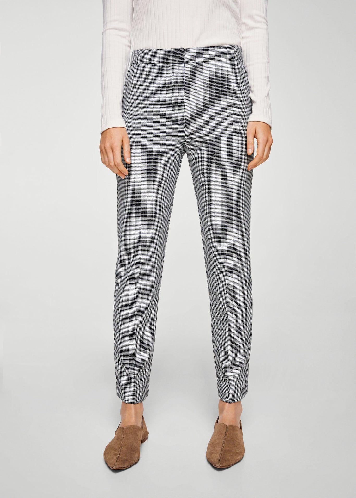 online retailer 08ab5 f5bed Pantalón pata de gallo Pata De Gallo, Bolsos, Rectas, Pantalones, Mujeres,