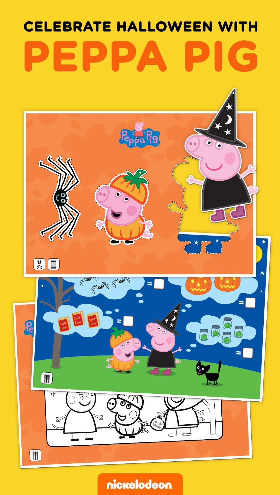Peppa Pig Halloween Activity Pack