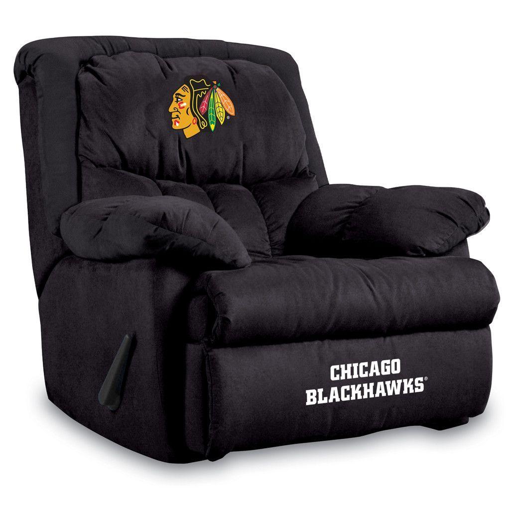 Chicago Blackhawks Home Team Recliner