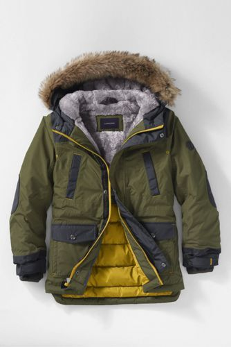 8c16fef6d0a Boys Expedition Parka from Lands' End | Aidan | Kids winter jackets ...