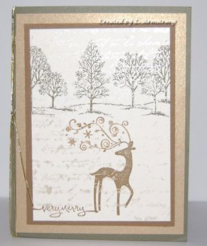 stampin up card ideas | the most popular stamp set of 2009 for Stampin' Up! And here's a card ...