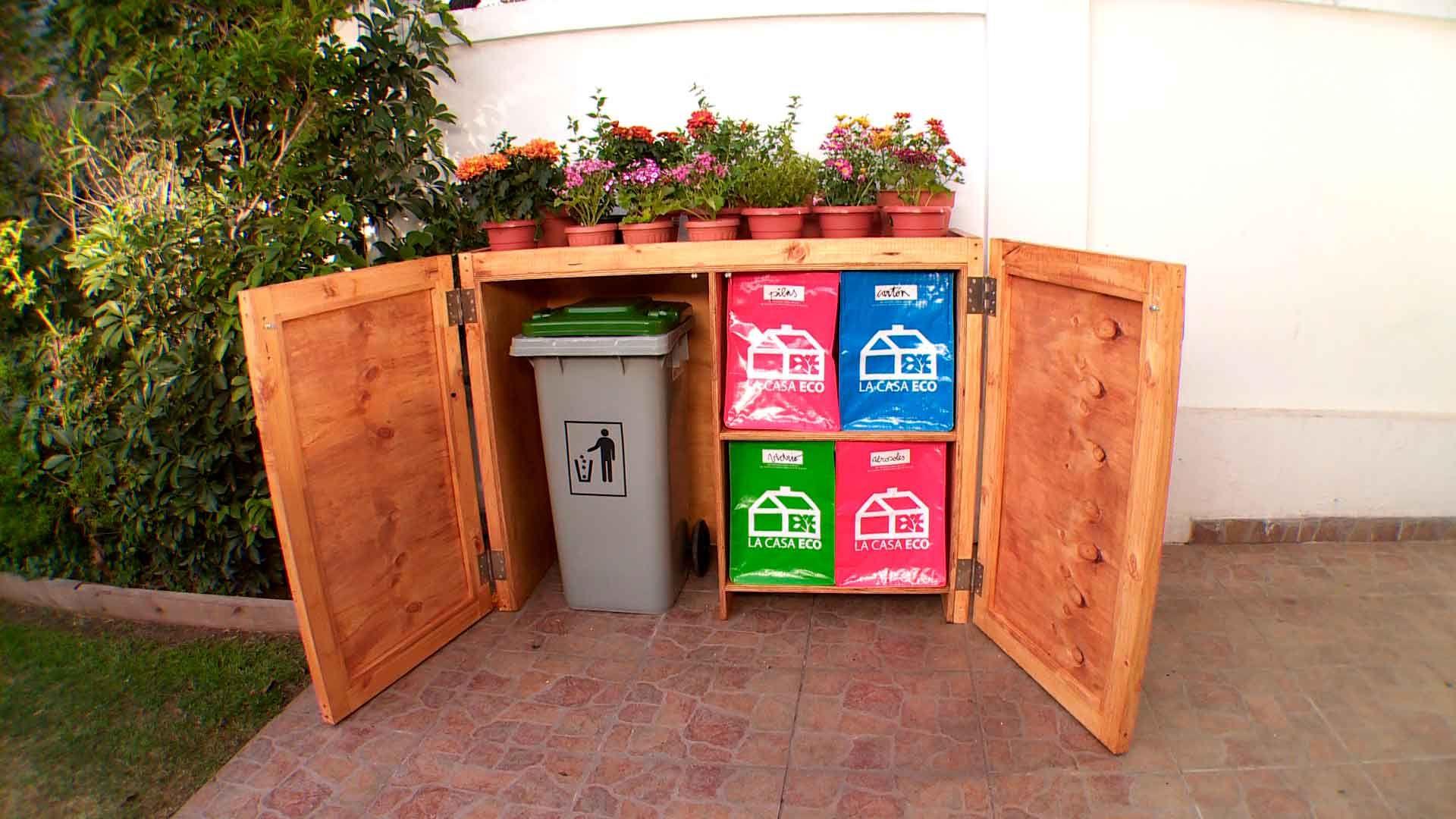 En este proyecto construiremos una estaci n para basura y for Objetivo de bano de basura