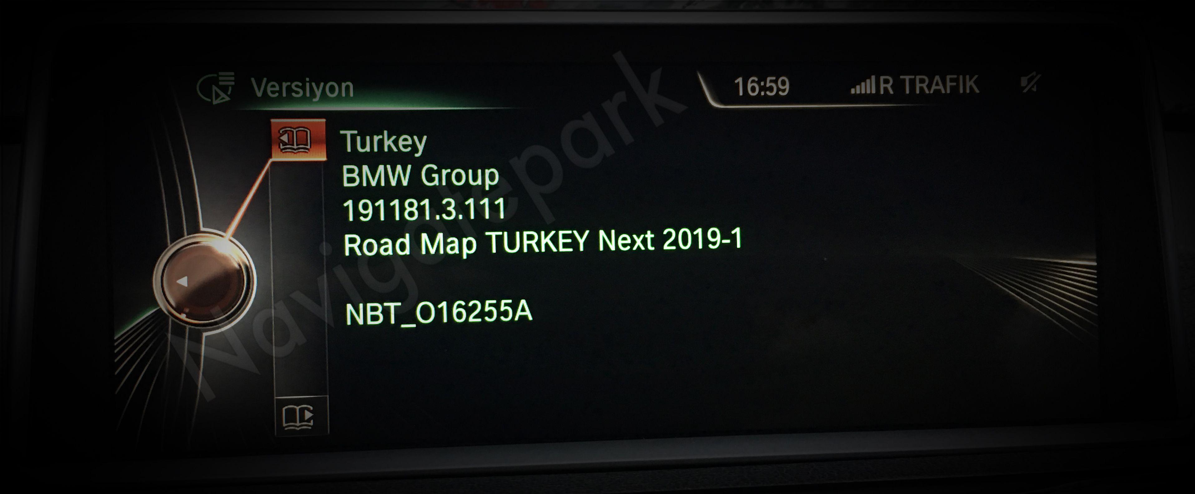 Bmw Road Map Turkey Next 2019 1 Geldi Navigatepark Com Dan