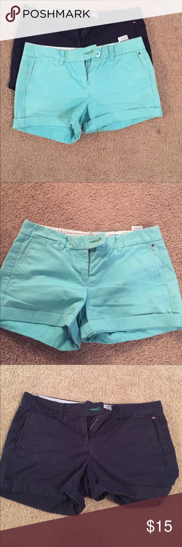 2 pairs! Tommy Hilfiger shorts 2 pairs! Tommy Hilfiger shorts. Both size 4 Tommy Hilfiger Shorts Skorts