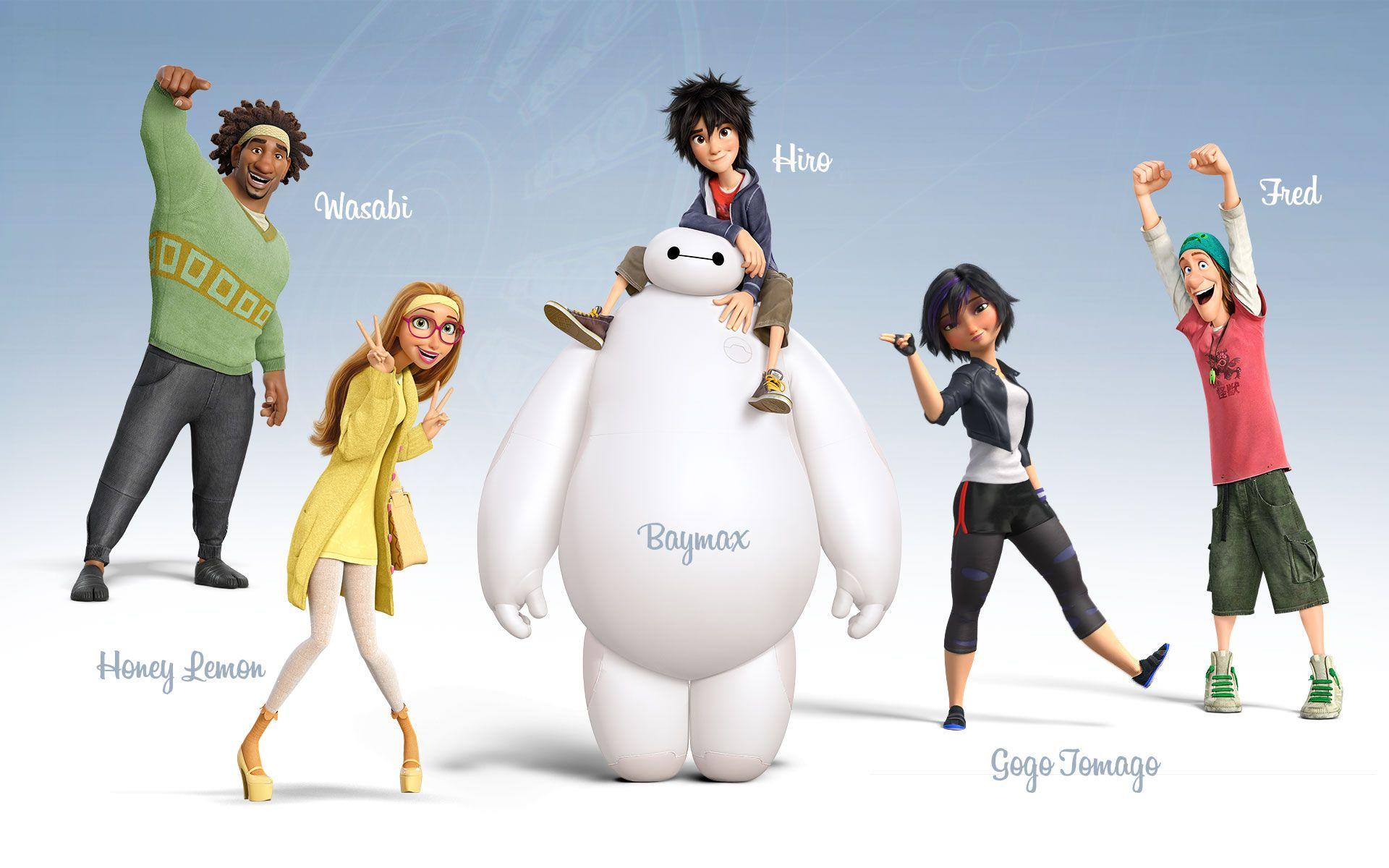 Disney Movie Big Hero 6 (2014) Desktop & iPhone Wallpapers ...
