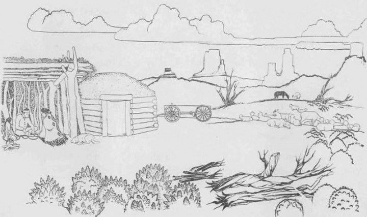navajo indian coloring sheets google search