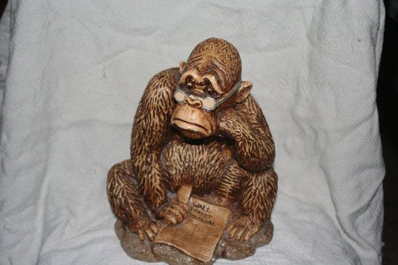 wall street journal gorilla vintage rare and by on wall street journal id=87677