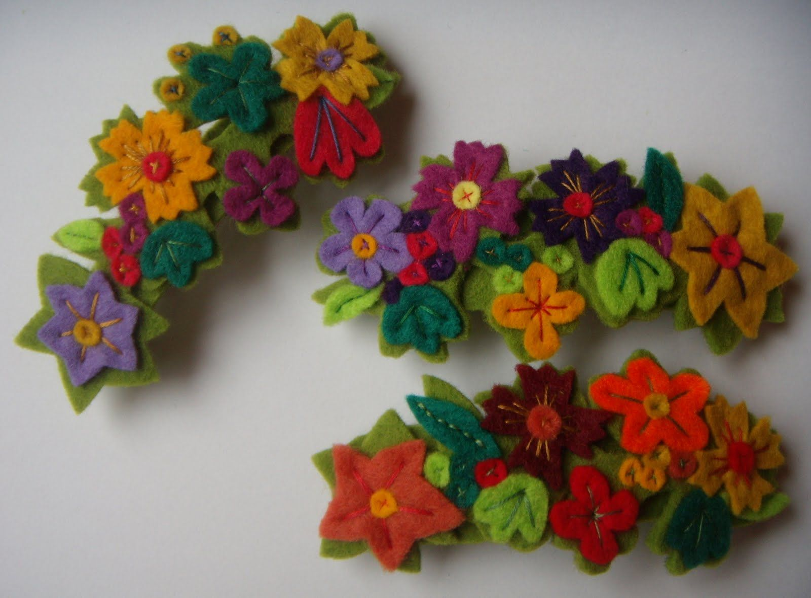 broches de fieltro - Buscar con Google