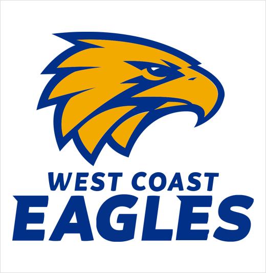 West Coast Eagles Reveal New Logo Design For 2018 Season Logo Designer West Coast Eagles Eagles Sports Logo Design