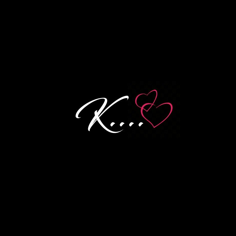 Love Heart Wallpaper K Name Photo