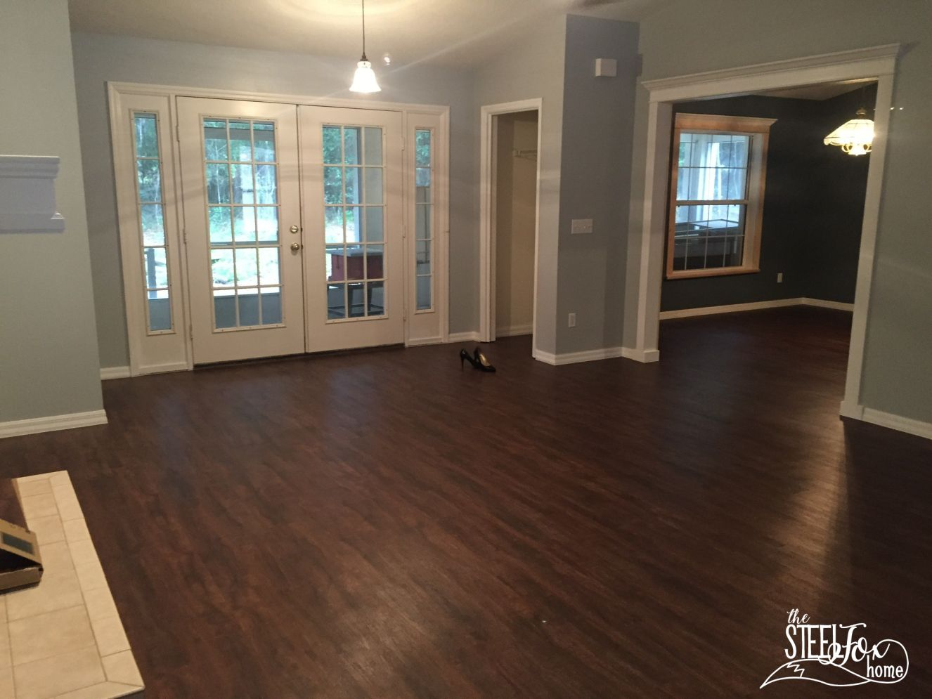 Luxury Vinyl Plank Wood Flooring Whole House Makeover Why We Choose Vinyl Pros And Cons And Our Honest Rev Vinyl House Vinyl Flooring Vinyl Flooring Kitchen