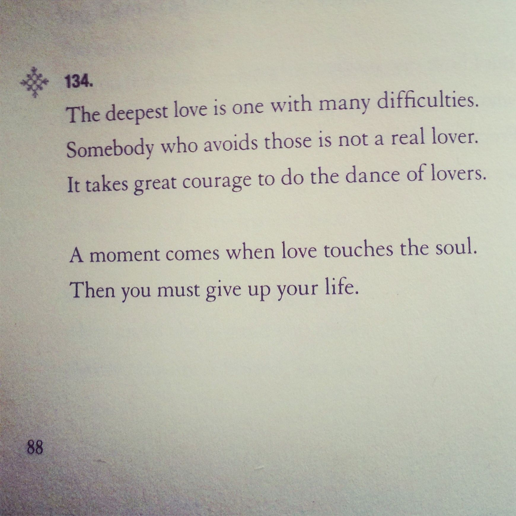 This Soul Love Is The Fiercest Thing I Know From Rumis Soul Fury