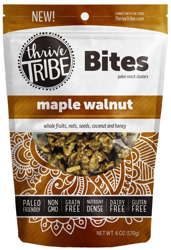 6 oz Maple Walnut Clusters by Thrive Tribe - Wild Mountain Paleo - new tribal blueprint diet