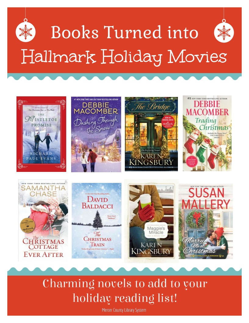 Do You Enjoy Watching Hallmark Holiday Movies Try Reading One Of These Instead Check Out The Books Th Hallmark Holiday Movies Hallmark Holidays Holiday Movie