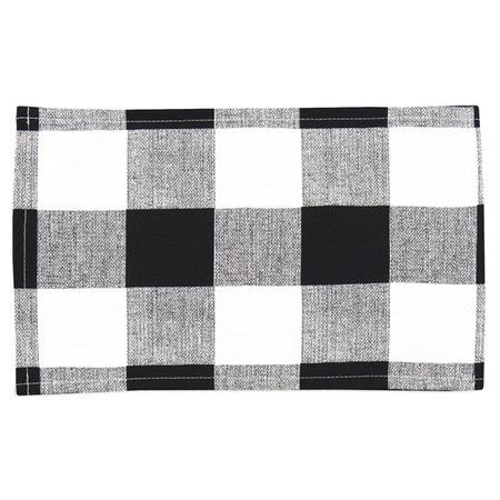 Dorothy Placemat in Black (Set of 4) at Joss & Main