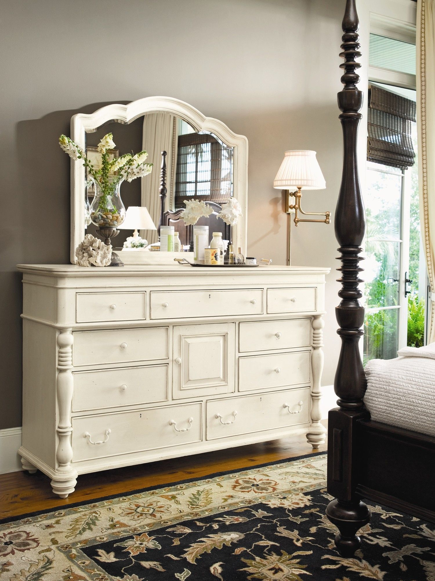 Paula deen home steel magnolia 9 drawer dresser reviews - Steel magnolia bedroom furniture ...