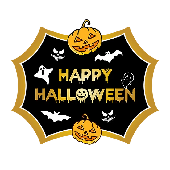 Happy Halloween Inscription Printables Png Image Editable Downloadable Upcrafts Design Elegant Halloween Halloween Vector Halloween Frames