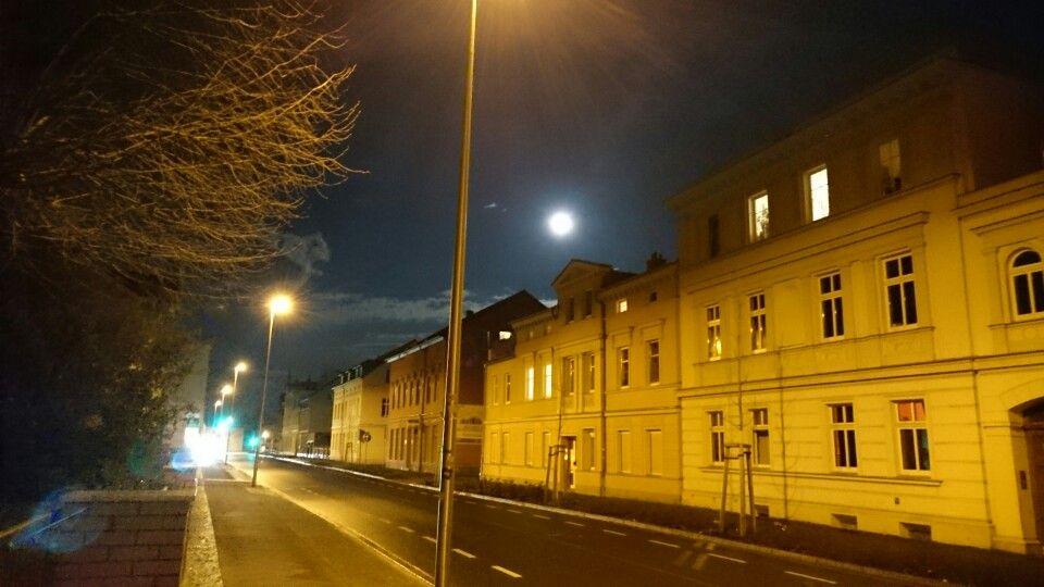 Cottbus bei Nacht