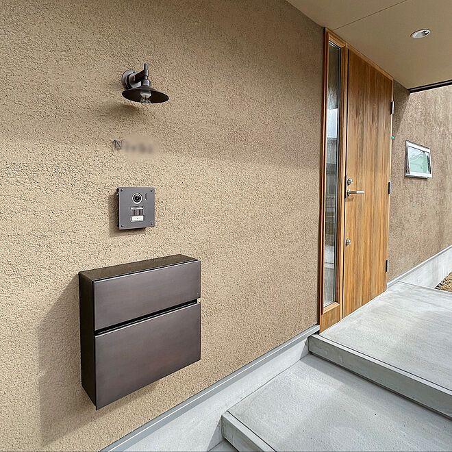 Mortar entrance / mortar / Panasonic intercom / exterior design / gate pillar surroundings … etc. Interior examples –2021-02 …
