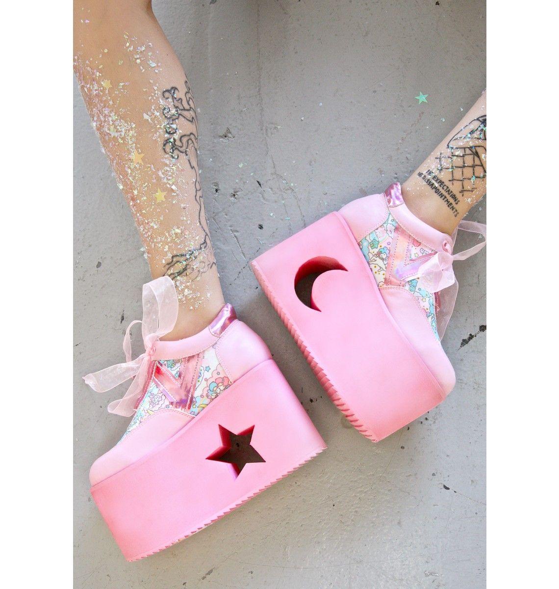 3db16023bbf Y.R.U. X Dolls Kill Little Twin Stars Qozmo Lo Platforms | Love ...