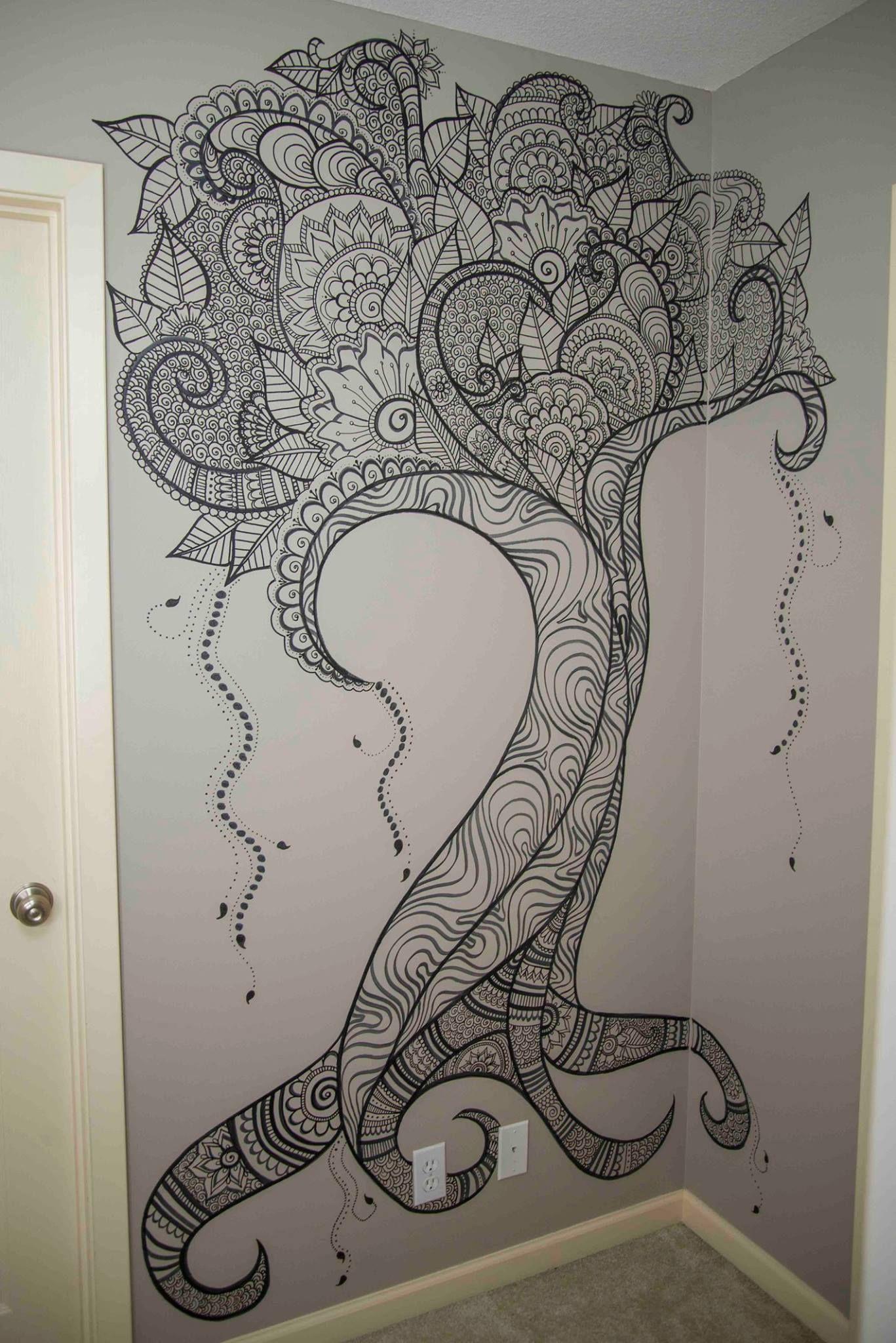 Pin By Kimberly Thomasson On Art Wall Tree Wall Art Art