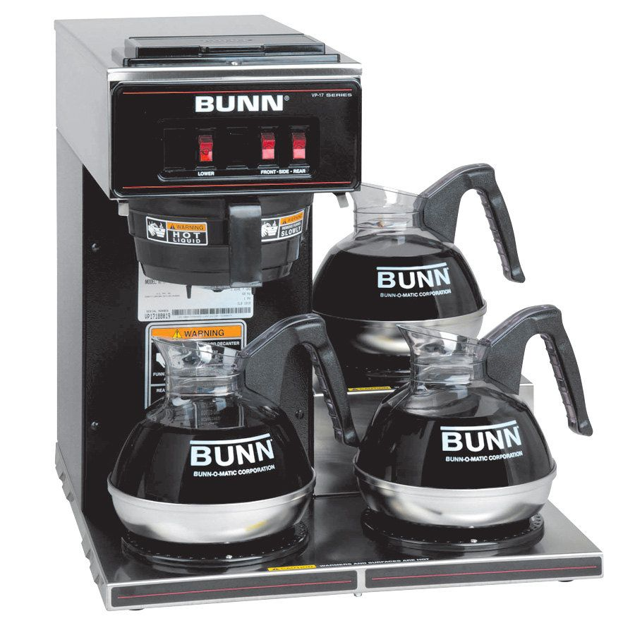 Bunn 133000013 vp173 low profile pourover coffee brewer
