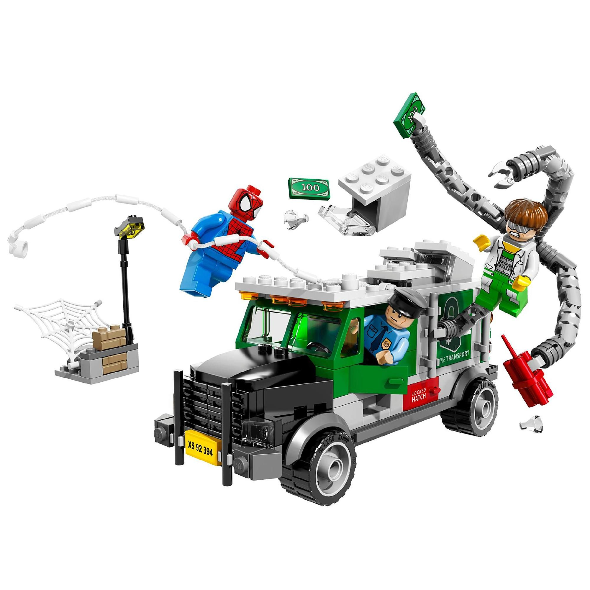 Foil the Doc Ock Truck Heist with heroic SpiderMan