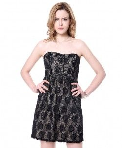 Solid Print Dress